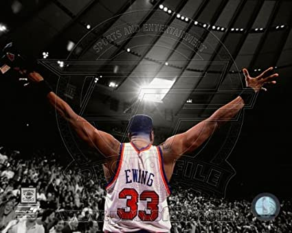 Amazon Com Patrick Ewing New York Knicks Nba Spotlight Photo 8x10