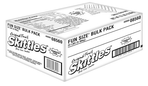 Skittles Fun Size, 22-Pound Bulk Package