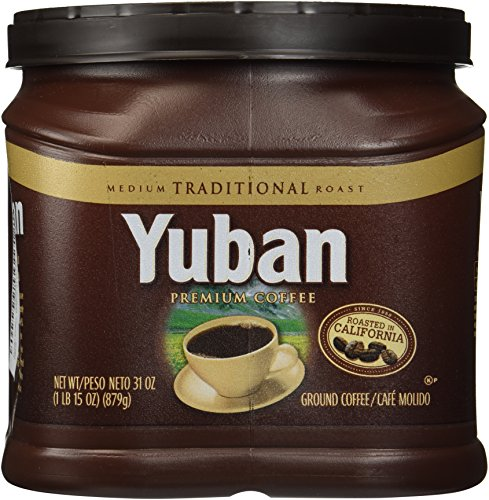 Yuban Ground Coffee Traditional Canister