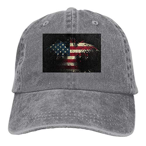 American Eagle Gloves - Eagle American Flag Denim Hat Adjustable Plain Cap Baseball Caps
