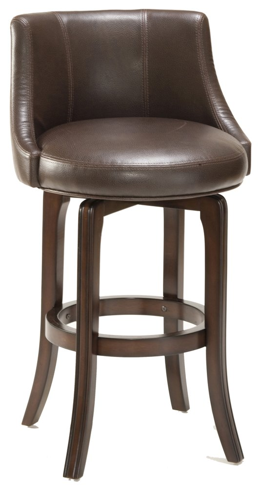 Amazon.com Napa Valley Swivel Counter Stool - Brown Upholstery (30 in.) Kitchen u0026 Dining  sc 1 st  Amazon.com & Amazon.com: Napa Valley Swivel Counter Stool - Brown Upholstery ... islam-shia.org