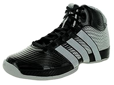 Adidas Men's Commander TD 4 Black1/Runwht/Metsil Basketball Shoe 14 Men US