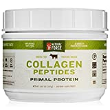 Grass Fed Collagen Peptides, Best Collagen for Hair, Nails and Skin* – Hydrolyzed Collagen Protein from Pasture Raised Cows – Type I and III Collagen Powder Supplement by Natural Force, 5.87 Ounce