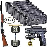 Magnetic Gun Mount Holster 53lb. - Gun Magnet Mount - Discreet Tactical Concealed Carry Handgun Holder for Car Truck Under Desk Bedside Wall w/Anti Scratch Rubber Coating (8)