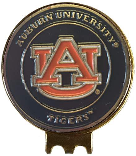 (Auburn Tigers Golf Ball Marker HAT Clip Great Gift IDEA WAR Eagle SEC)
