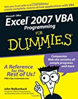Excel Vba Programming For Dummies 2nd Edition Pdf