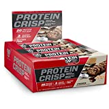 BSN Protein Crisp Bar by Syntha-6, Low Sugar Meal Replacement Whey Protein Bar