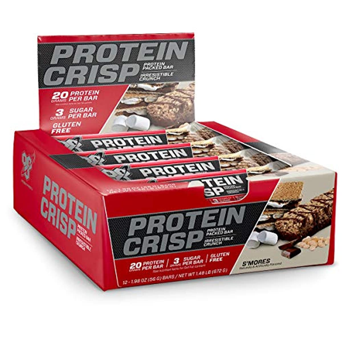 bde0041bf BSN Protein Crisp Bar by Syntha-6