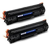 JARBO Compatible Toner Cartridges Replacement for HP 85A CE285A High Yield, 2 Black, Compatible with HP Laserjet Pro P1102W P1109W M1212NF M1217NFW Printer