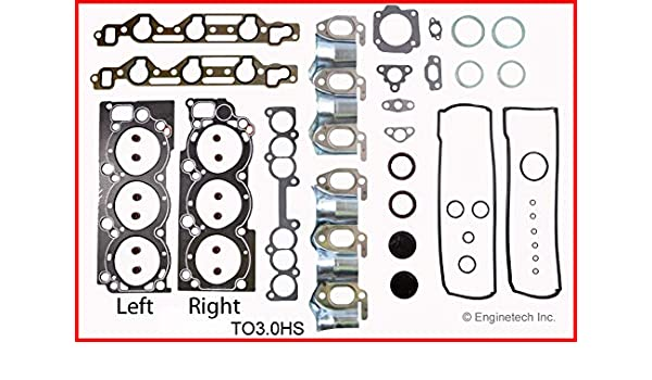 Amazon com: Enginetech TO3 0HS GSKT Toy 3 0L 3VZE: Automotive