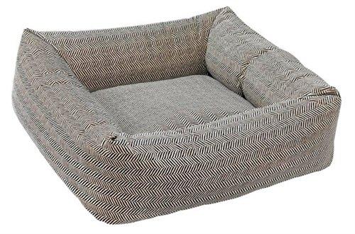 Herringbone Microvelvet Dutchie Bed (SMALL)