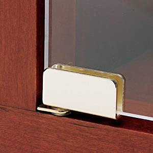 Glass Door Pivot Hinge for Free Swinging Glass Doors Polished Chrome (Pair)