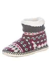 Noble Mount Womens Arctic Indoor Boot Slippers