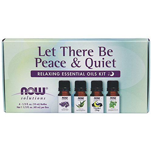 NOW Solutions Let There Be Peace and Quiet Relaxing Essential Oil Kit
