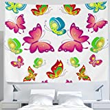 100% ALAZA brand new and high quality . Quantity:1PC This gorgeous piece of art can be used as Table Cloth, Curtain and Wall Hanging....Also perfect to take along to a picnic or to the beach. These wonderful prints are a great way to add color to you...