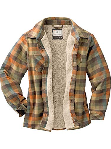 (Legendary Whitetails Women's Open Country Shirt Jacket Rustic Large)