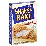 Kraft Shake 'N Bake Seasoned Coating Mix for Chicken Original Chicken 5.5 Oz 6 Packs