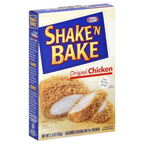 Kraft Shake 'N Bake Seasoned Coating Mix for Chicken Original Chicken 5.5 Oz 6 Packs