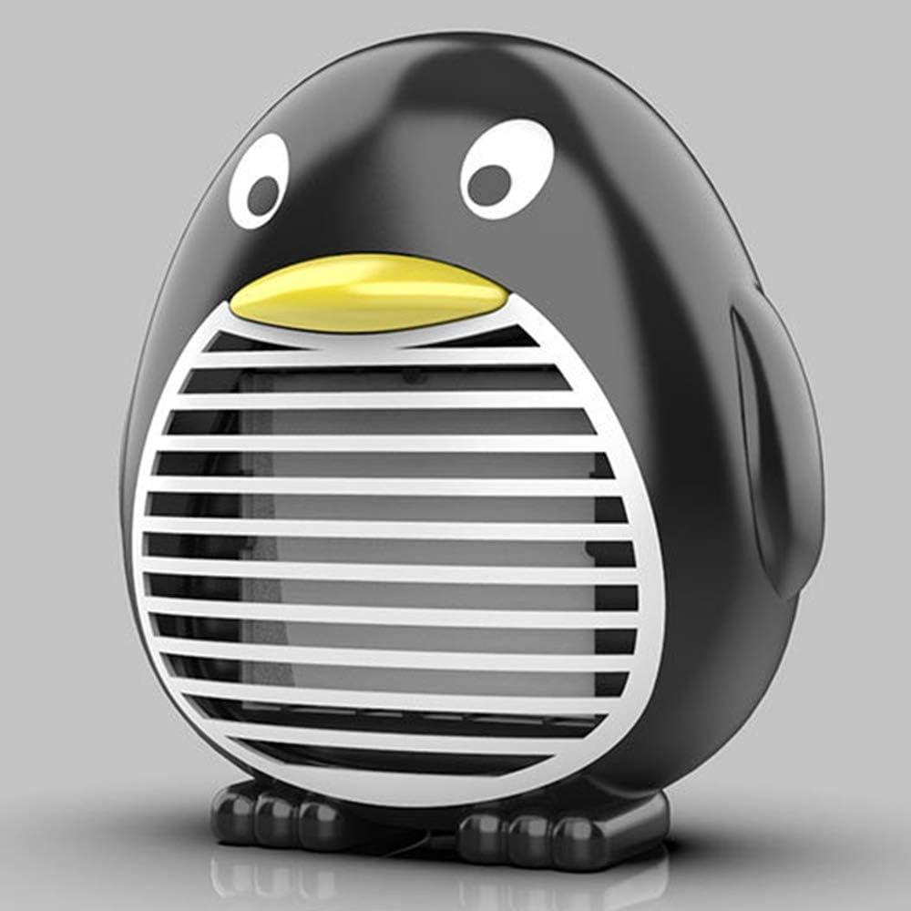 SanyaoDU Mini Calentador De Ventilador De Forma De Pingüino De Dibujos Animados, Termostato Inteligente Apagado Protección Calentamiento Rápido, Silencio, Adecuado para Familias De Oficinas,A: Amazon.es: Hogar