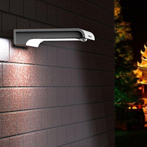 InnoGear 20 LED Solar Lights Motion Sensor Wall Light Outdoor Security Light Night Light for ...