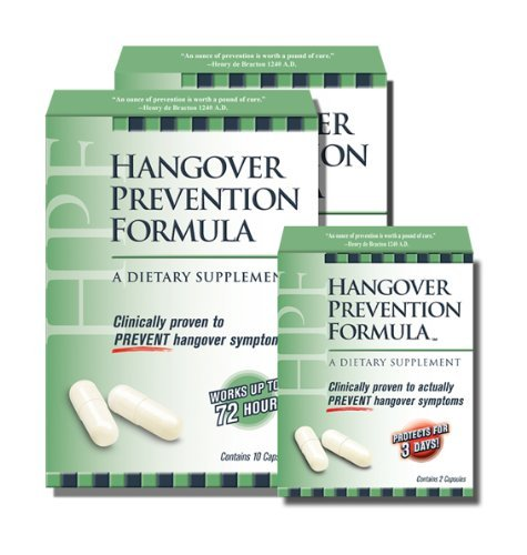 HPF Hangover Prevention Formula Special product image
