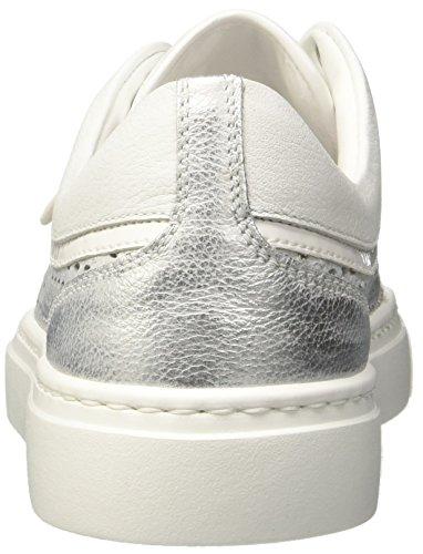 Salzburg New 19 Baskets Silver Bogner White Silber Femme v5qwvnSd