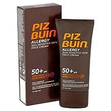 Piz Buin Allergy Face Cream SPF50+ 50ml (PACK OF 4)