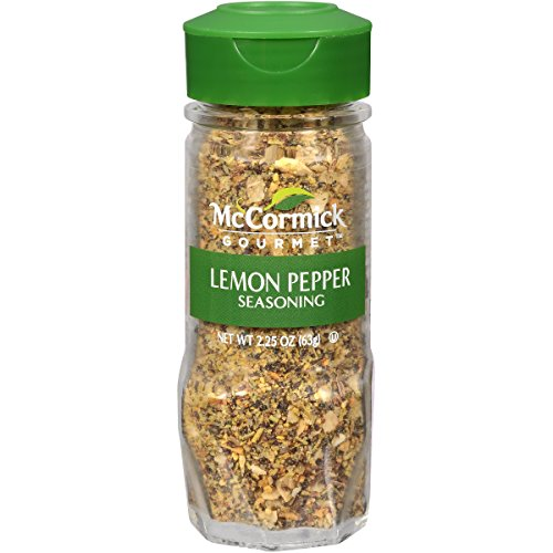 McCormick Gourmet Lemon Pepper Blend, 2.25 (Mccormick Lemon Pepper)
