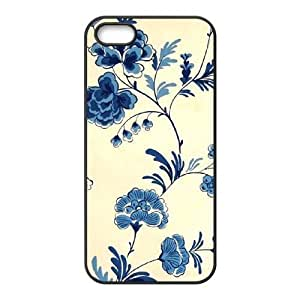 Cool Painting Retro Floral Series Personalized Cover Case for Iphone 5,5S,customized phone case case598498 wangjiang maoyi