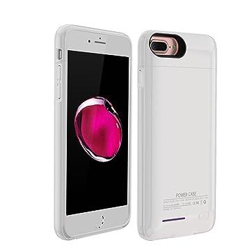YiYunTE Funda Batería iPhone 6/6S/ Case Carcasa Con Batería Cargador-Batería Externa Recargable 3000mAh Para iPhone 6/6S/7 (Blanco)