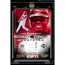 2005 Upper Deck ESPN Kenk Griffey Jr. Authentic Sportscenter Swatches Jersey Baseball Card Mint Condition