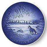 Bing & Grondahl 1024800 Christmas Plate 2018