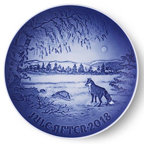 Bing & Grondahl 1024800 Christmas Plate 2018 by Royal Copenhagen