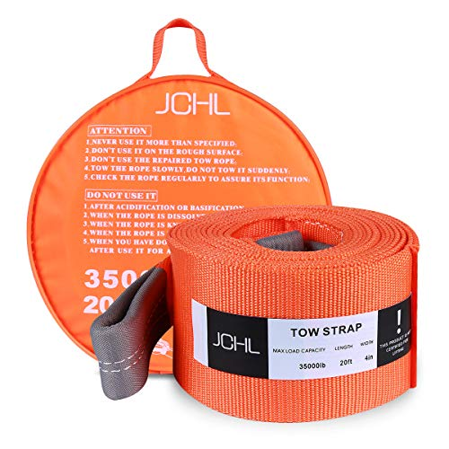 Heavy Duty Tow Strap - JCHL Recovery Tow Strap Heavy Duty Draw String 4