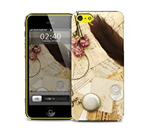 vintage feather iPhone 5 / 5S protective case