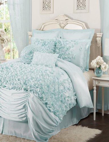 (Triangle Home Fashions Lush Decor Lucia 4 pc. Comforter Set)