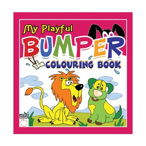 Download My Playful Bumper Colouring Book- Pink pdf epub