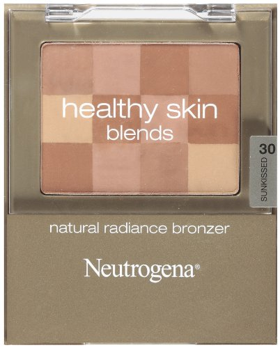 Neutrogena Skin Blends Natural Radiance Bronzer, Sunkissed 30, 0.2 Ounce (Best Bronzer For Contouring Olive Skin)