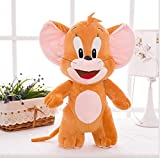 Tom and Jerry Soft Toy Gift For Kids (Boys, Girls and Baby) Real Looking Miniature Figures For Birthday (Return) Gift Brown Color 20 CM