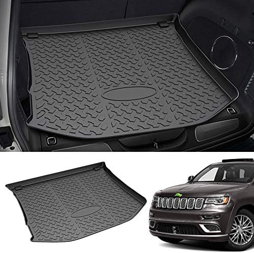 Mixsuper Rear Cargo Liner 3-d Upgrade Anti-Slip Durable Odorless Trunk Floor Mat for 2011-2021 Jeep Grand Cherokee Not Fit for Jeep Cherokee