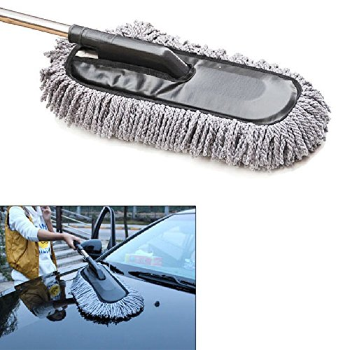 microfiber-car-duster-with-telescope-handle-for-interior-and-exterior-of-car-softly-hair-grey-color
