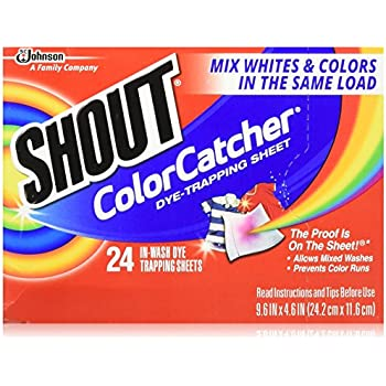 Amazon Com Shout Color Catcher Dye Trapping In Wash