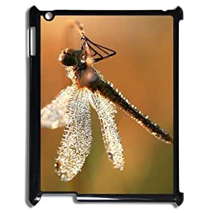 Beautiful Dragonfly New Fashion DIY Phone Case for Ipad2,3,4,customized cover case ygtg-310141
