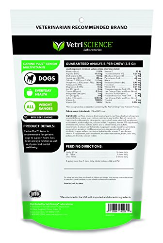 VetriScience-Laboratories-Canine-Plus-Senior-30-Bite-Sized-Soft-Chews-Multivitamin-for-Older-Dogs