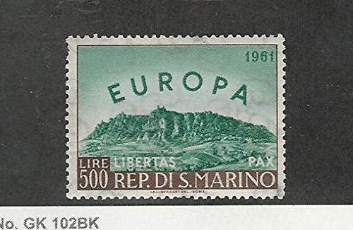 San Marino, Postage Stamp, 490 Mint LH, 1961 Europa, JFZ