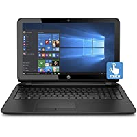 Premium HP Business Flagship High Performance 15.6 Inch HD Touchscreen Laptop PC, Intel i5-7200U Processor, 8GB DDR4 RAM, 1TB HDD, Webcam, WIFI, DVD, HDMI, Windows 10-Black