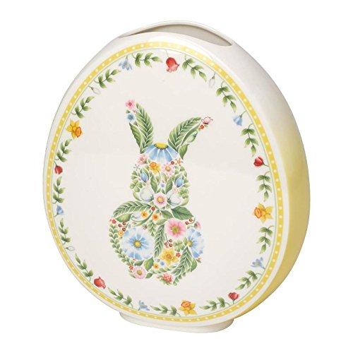 Villeroy & & & Boch Spring Fantasy Große Vase in Ei-Form, 26 cm, Porzellan, Grün Gelb B078X4243P Vasen 6ea4b3