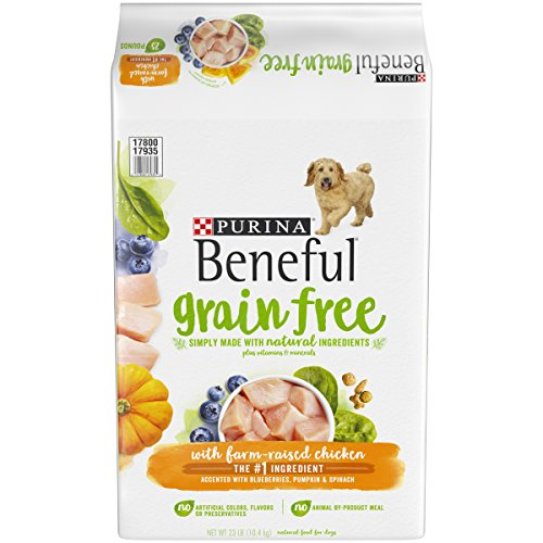 (Purina Beneful Grain Free, Natural Dry Dog Food; Grain Free With Real Farm Raised Chicken - 23 lb.)