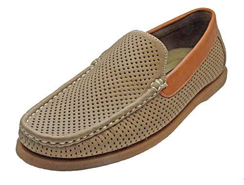 Aldo-Rossini-Mens-Miami-1-Perforated-Slip-On-Loafer-Shoes
