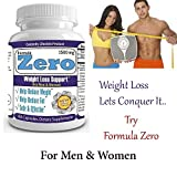 """Celebrity's """"Formula Zero™ """" Most Effective Weight Loss Formula│Rapid Weight Loss│Diet Pills│Extreme Fat Burner│Flat Belly│Ultra Slim Body│Six Pack Abs│30 Days Supply│ Made in USA."""
